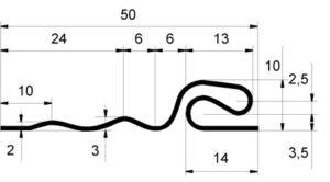 Планка стартовая Grand Line