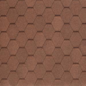 Гибкая черепица Tegola Nobil Tile Вест Светло-коричневый