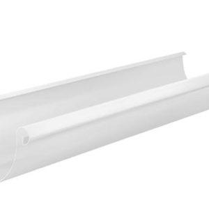 Желоб полукруглый 3м Aquasystem 125/90 RR20 Белый