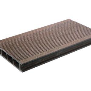 Террасная доска из дпк DOS EXCLUSIVE Шоколад