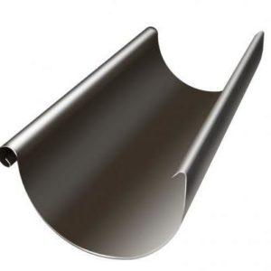 Желоб полукруглый 3м Grand Line 125/90 RR 32 Темно-коричневый