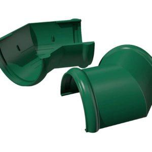 Угол желоба 135˚ Verat Технониколь 125/80 Зеленый
