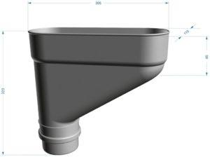 Коллектор Docke LUX 141/100 Пломбир