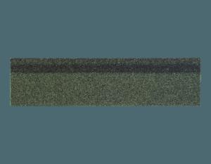 Черепица коньково-карнизная Shinglas Зеленый Микс