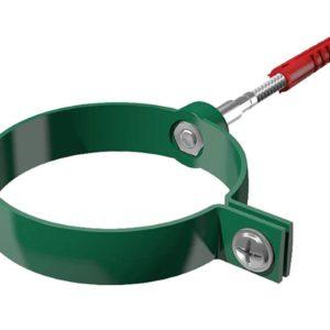 Хомут трубы универсальный Verat Технониколь 125/80 Зеленый L=140 мм