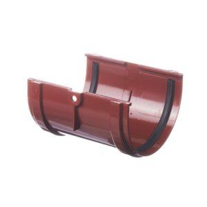 Соединитель желобов Docke Premium 120/85 Гранат