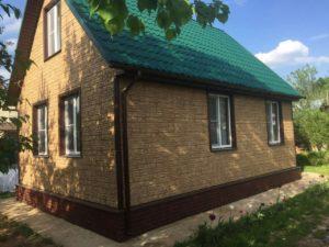 Фасадная панель GrandLine Я-Фасад Крымский сланец Песок