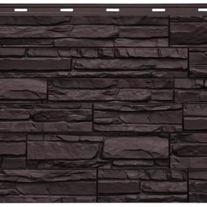 Фасадная панель Nordside Сланец Шоколадный