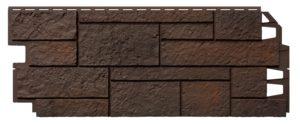 Фасадная панель VOX Sandstone Темно-коричневый
