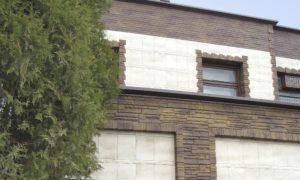 Сайдинг цокольный Альта-Профиль Фасадная плитка Базальт