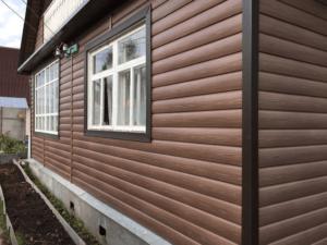 Сайдинг Döcke (Деке) Блок Хаус Wood Slide D4,7T Рябина