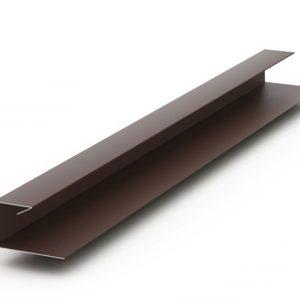 J-профиль металлический для сайдинга
