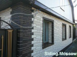 Фасадная панель Альта-Профиль Камень Белый
