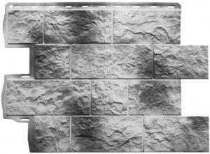 Фасадная панель Альта-Профиль Туф Камчатский