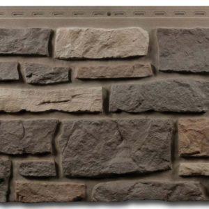 """Фасадная панель Nailite """"Бутовый камень Premium"""" Golden Montana"""