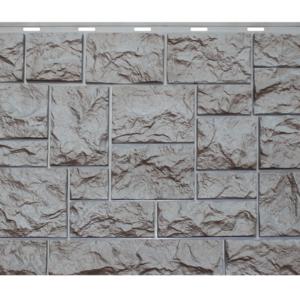 """Фасадная панель Nordside """"Северный камень"""" Серый"""