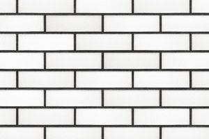 """Фасадная панель Nordside """"Гладкий кирпич"""" Белый"""