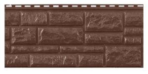 Цокольный сайдинг Доломит RockVin Шоколад