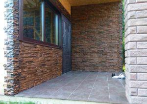 Фасадная панель Royal Stone Скалистый камень Калгари