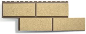 Фасадная панель Альта-Профиль Неаполитанский Камень Слоновая кость