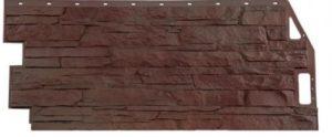 Сайдинг цокольный FineBer Скала Желто-коричневый