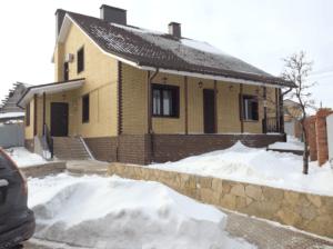 Фасадная панель Альта-Профиль Кирпич Клинкерный Желтый