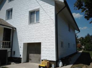 Фасадная панельTecos Натуральный Камень Белый