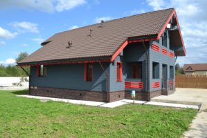 Фасадная панель Альта-Профиль Кирпич Жженый
