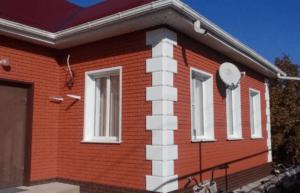 Фасадная панель Альта-Профиль Кирпич Клинкерный Красный