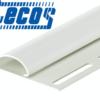 Планка финишная Tecos Белая