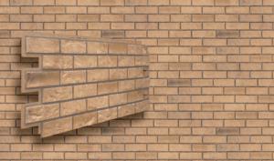 Фасадная панель VOX Solid Brick Exeter кирпич песочный