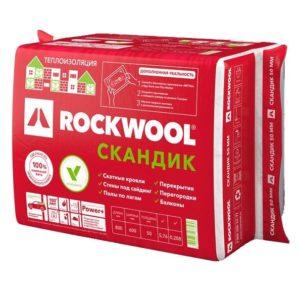 Утеплитель Rockwool Лайт Баттс Скандик 50 мм