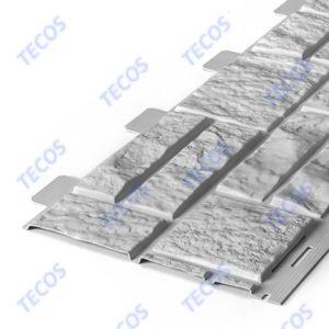 Фасадная панельTecos Натуральный Камень Серый