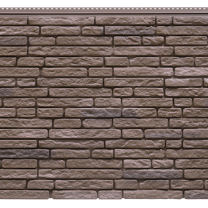 Фасадная панель Foundry Натуральный камень Умбра