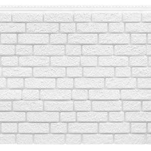 Фасадная панель Foundry Кирпич Снежно белый