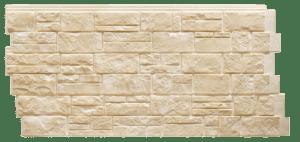 Фасадная панель Foundry Известняк Солома