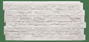 Фасадная панель Foundry Известняк Белый хлопок
