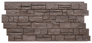 Фасадная панель Foundry Известняк Умбра