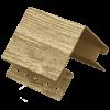 Угол наружный акриловый Ю-Пласт TimberBlock Ель Балтийская