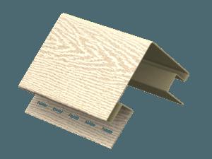 Угол наружный Ю-пласт Timberblock Ясень золотистый