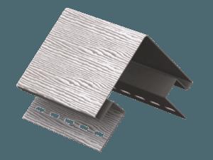 Угол наружный Ю-пласт Timberblock Серебристый