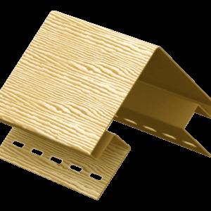 Угол наружный Ю-пласт Timberblock Золотистый