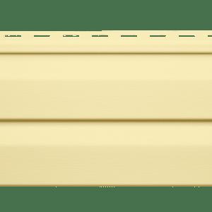 Сайдинг Vinyl-On Logistic D4D Корабельный брус Кремовый