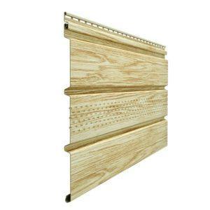 Софит Docke Wood Slide Рябина с центральной перфорацией
