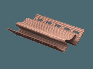 Угол внутренний Ю-Пласт Timberblock Дуб Мореный