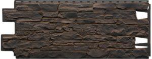 Фасадная панель VOX Solid Stone Sicily камень Темно-коричневый