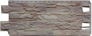 Фасадная панель VOX Solid Stone Calabria камень Глиняный