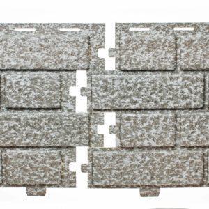 Фасадная панельTecos Brickwork Сильвер Меланж