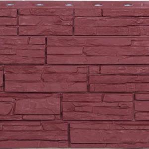 Фасадная панель ЭКО Альпийская сказка Красный