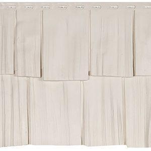 Фасадная панель Эко Щепа дуб Белый